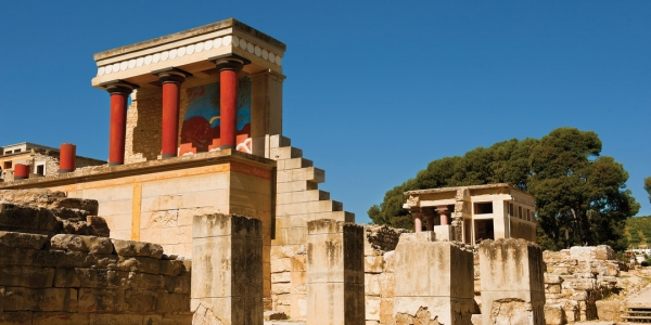 Knossos Palace - Archaeological Museum  & Heraklion city