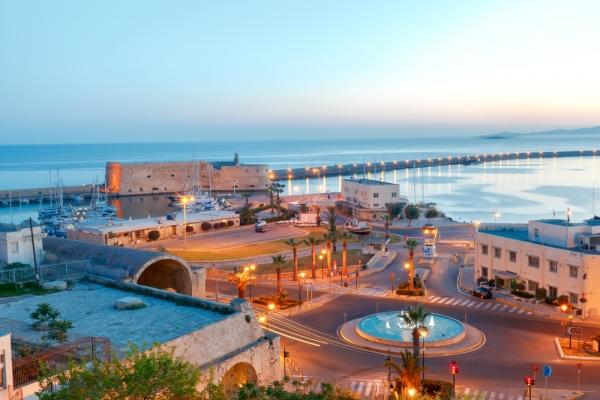 Heraklion city