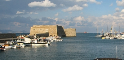 The Venetian Marine Fortress of Heraklion
